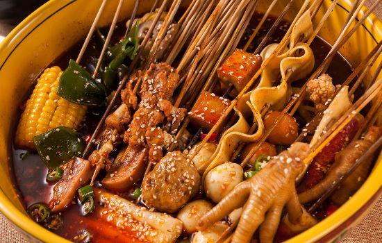 串串小吃,啊咻冷锅串串加盟